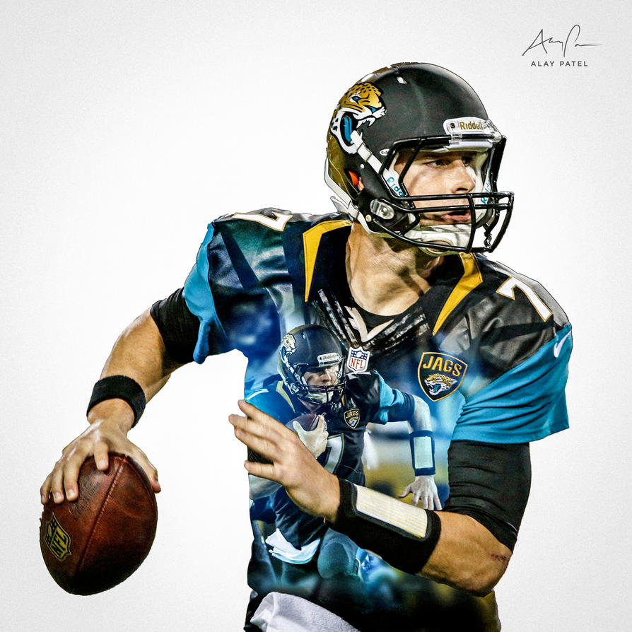 chad henne jacksonville jaguars by alaypatel on deviantart. Cars Review. Best American Auto & Cars Review