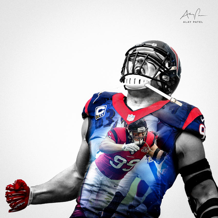 J J Watt Houston Texans By Alaypatel On Deviantart