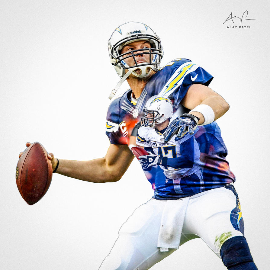 Philip Rivers San Diego Chargers By Alaypatel On Deviantart