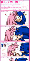 kiss meme SonAmy_Amy by LaDenny