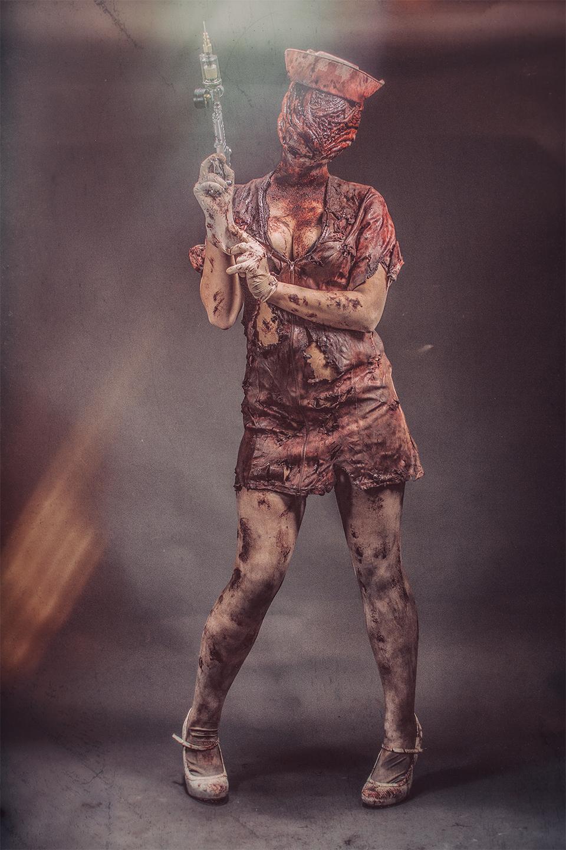 ldm imagesize:960x1440 @ Silent Hill Nurse
