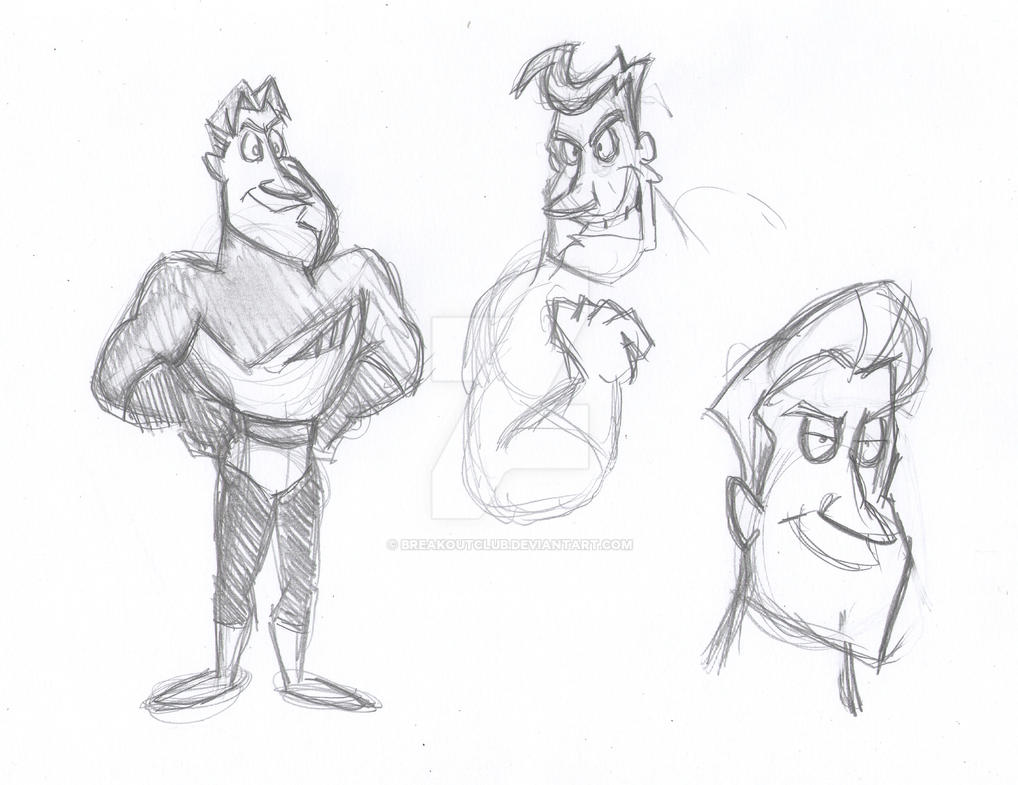 Captain Craas Redesign Sketches by BreakoutKid