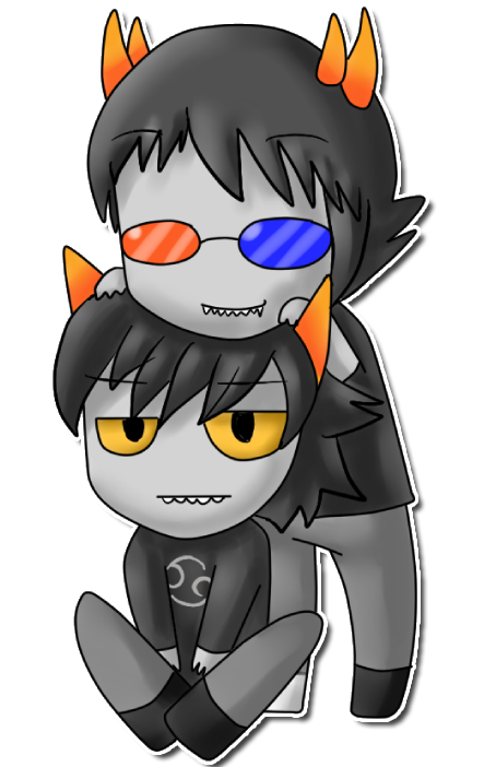 Sollux X Karkat Yaoi Sollux and karkat by