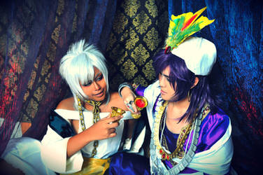 Magi: Before the alcohol ban... 8D by ringo-031