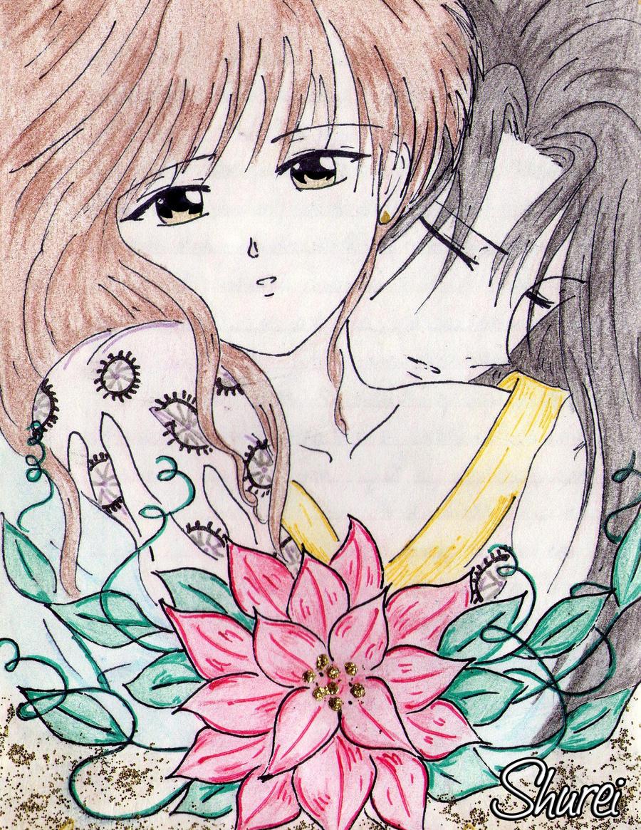 Miaka and Hotohori by Shurei90 on DeviantArt