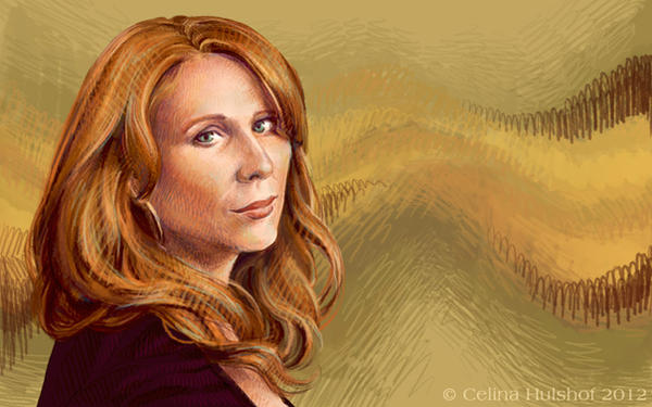 Catherine Tate by concentriccookies