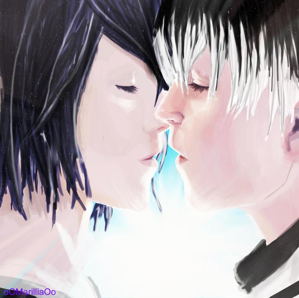 [Touka X Kaneki/Haise] Finally Together Again~ By