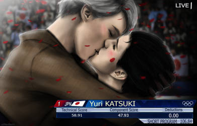 [Victor x Yuri] Love wins.. by xXMarilliaXx