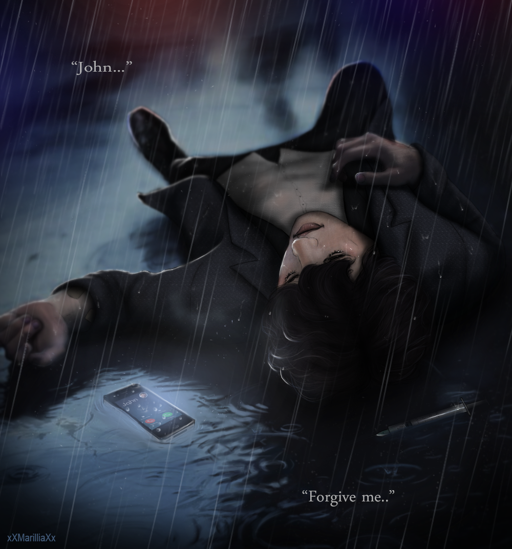 [Sherlock Holmes] overdose.. by xXMarilliaXx