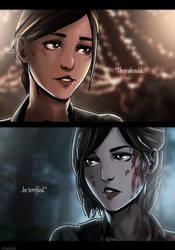 Ellie On The Last Of Us Deviantart