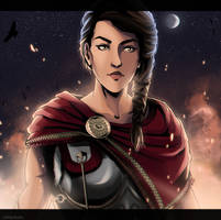 [Assassin's Creed Odyssey] Kassandra by xXMarilliaXx