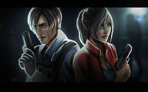 [Resident Evil 2 Remake] Leon and Claire by xXMarilliaXx