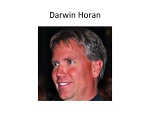 darwin-horan's Profile Picture