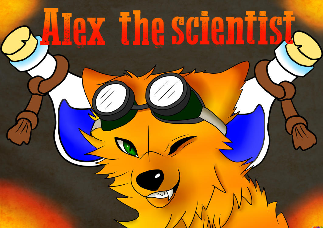 Alex the mad scientist by ArthurSalim