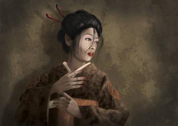 Shosuro Inao by KatanaL5A