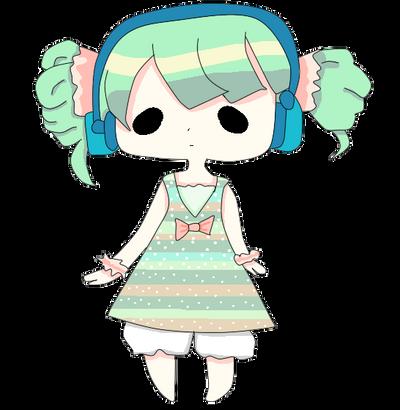 Miku Pixel by bunnygirl867
