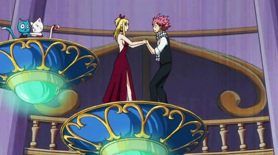 Lucy and Natsu episode...