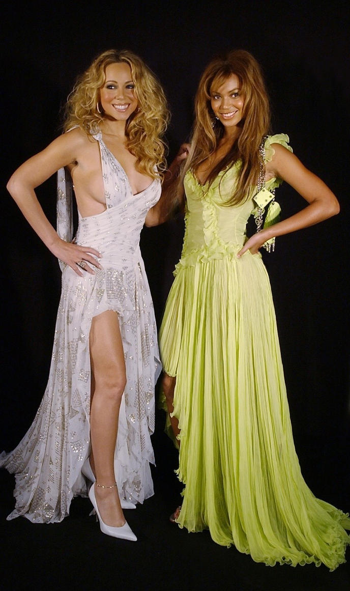 Donatella Versace Mariah Carey