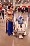 Wonder Leia with R2