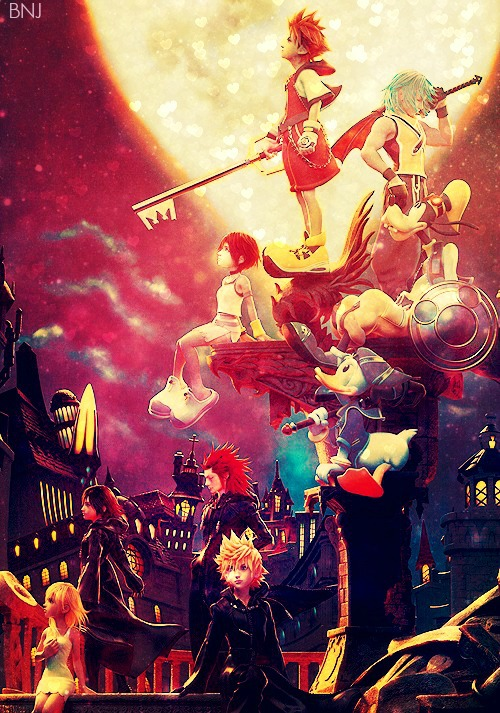 Kingdom Hearts 15 Remix Wallpaper By GoldRuby