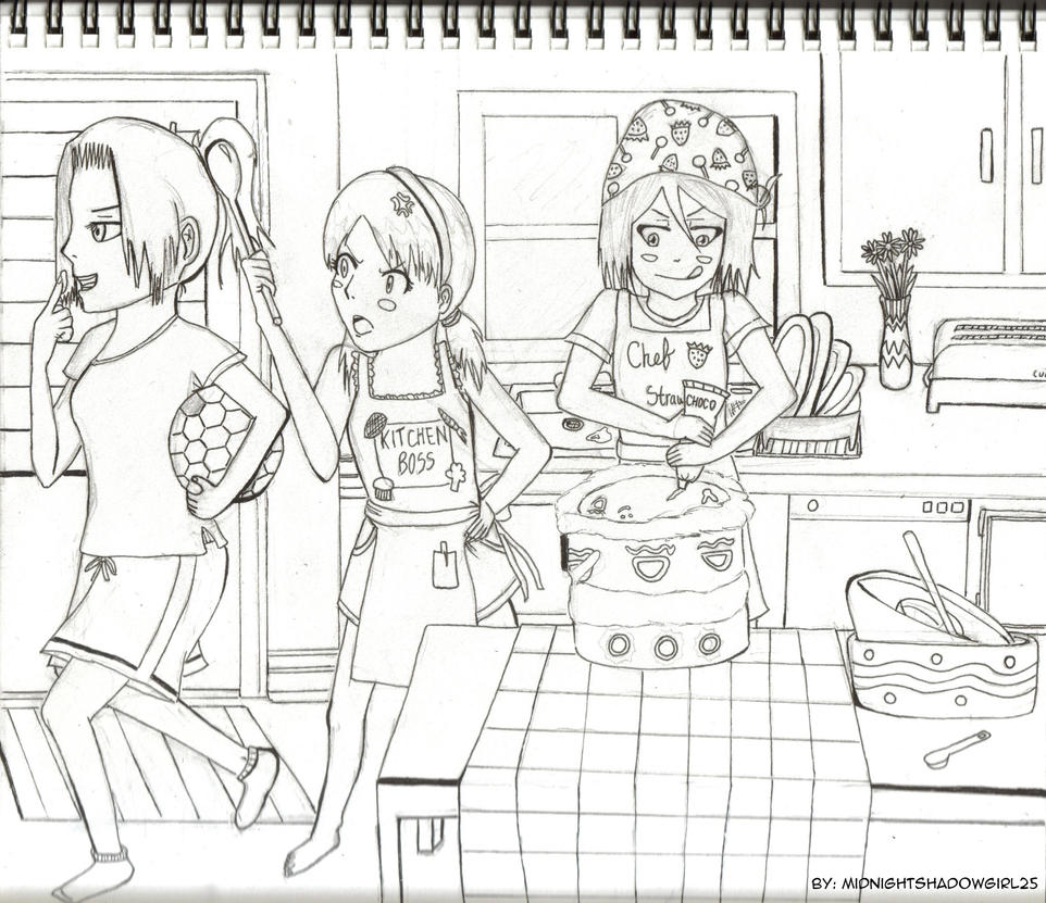 The Kurosaki Birthday Baking by MidnightShadowgirl25