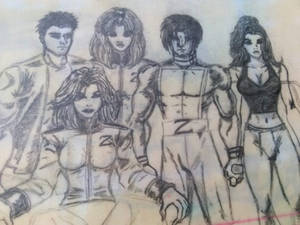 Rebel Unit VVG Zeus Crew Sketch