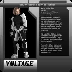 B3 Character Bio - Voltage