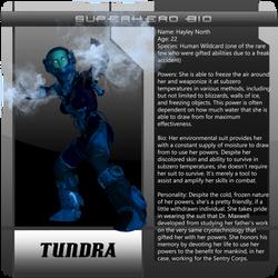 B3 Character Bio - Tundra
