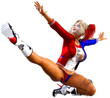 Harley Quinn Flavored B-Day Gift Render 2