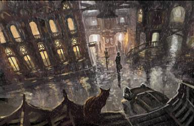 the rain city by Nneila