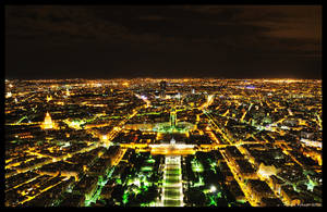 Endless City - Paris at Night by hquer