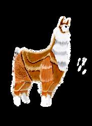 Llama by VampireDarkling