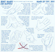 How To Draw Bugs' Hands by ixbalam