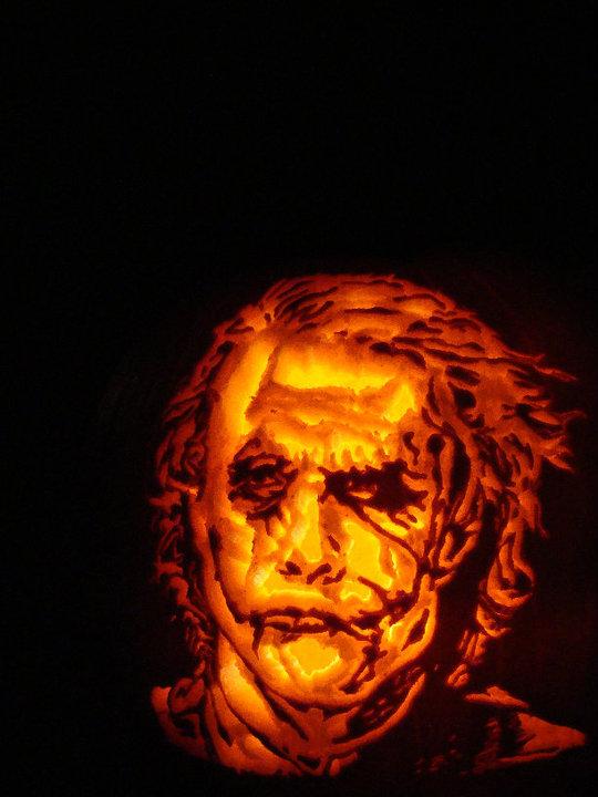 Heath Ledger's Joker by AmazingPumpkins