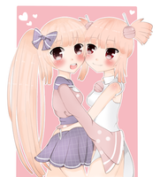 Contest entry: Like sisters by MoeKimiko