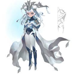 Ice queen by Midfinger