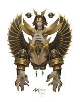 Eye of Horus by Midfinger