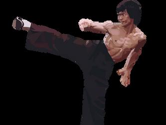 Bruce Lee by aakside