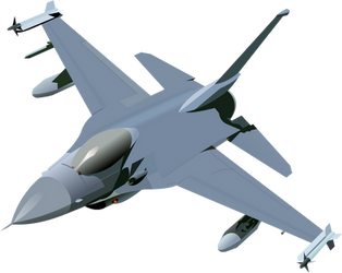 F-16 by aakside