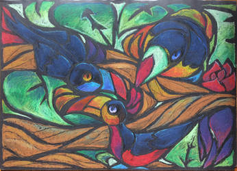 Toucans by BearChiId