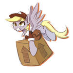 Derpyhooves sketch by L8Lhh8086