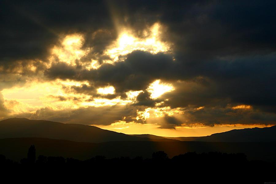 Near Sunset by MooseBag