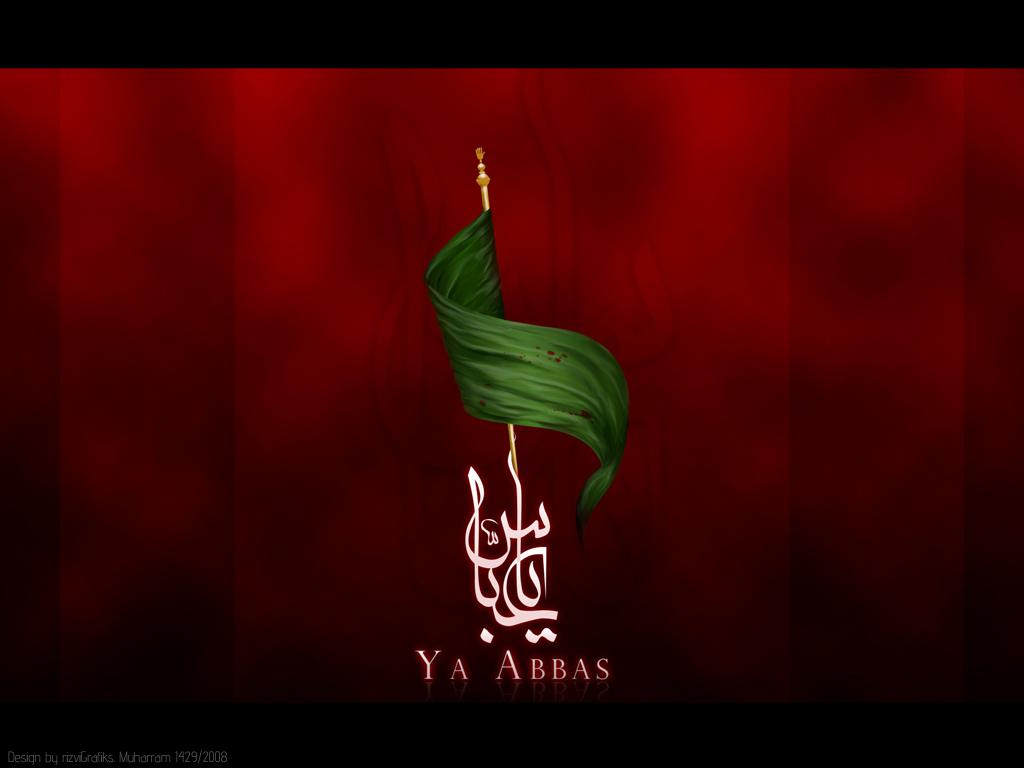 Ya Hussain Flag Ya Abbas -1429 by rizv...