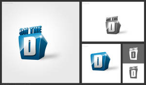 On the D logo