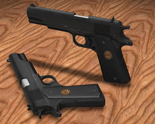 colt 1911 by blackpanther