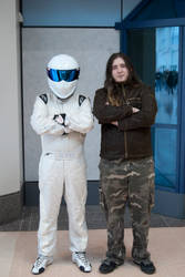 Myyself and the Stig by Alex-Dawnstar