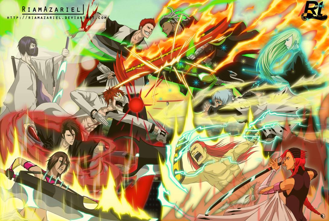 When universe collide: A storm of swords by RiamAzariel