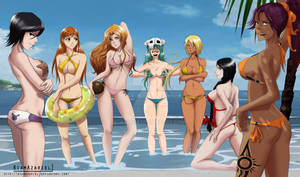 Bleach beach beauties