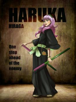 Eighth Division Lieutenant: Haruka Hiraga