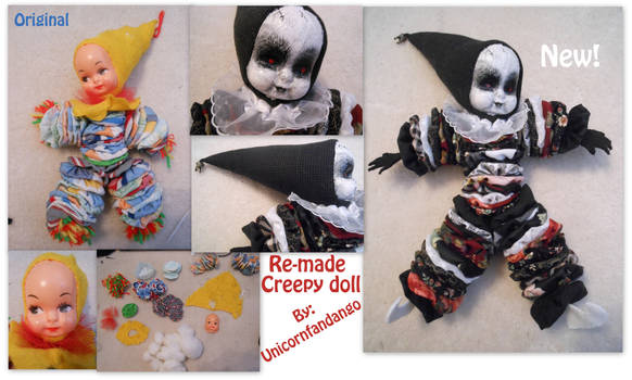 Re-made Creepy Doll